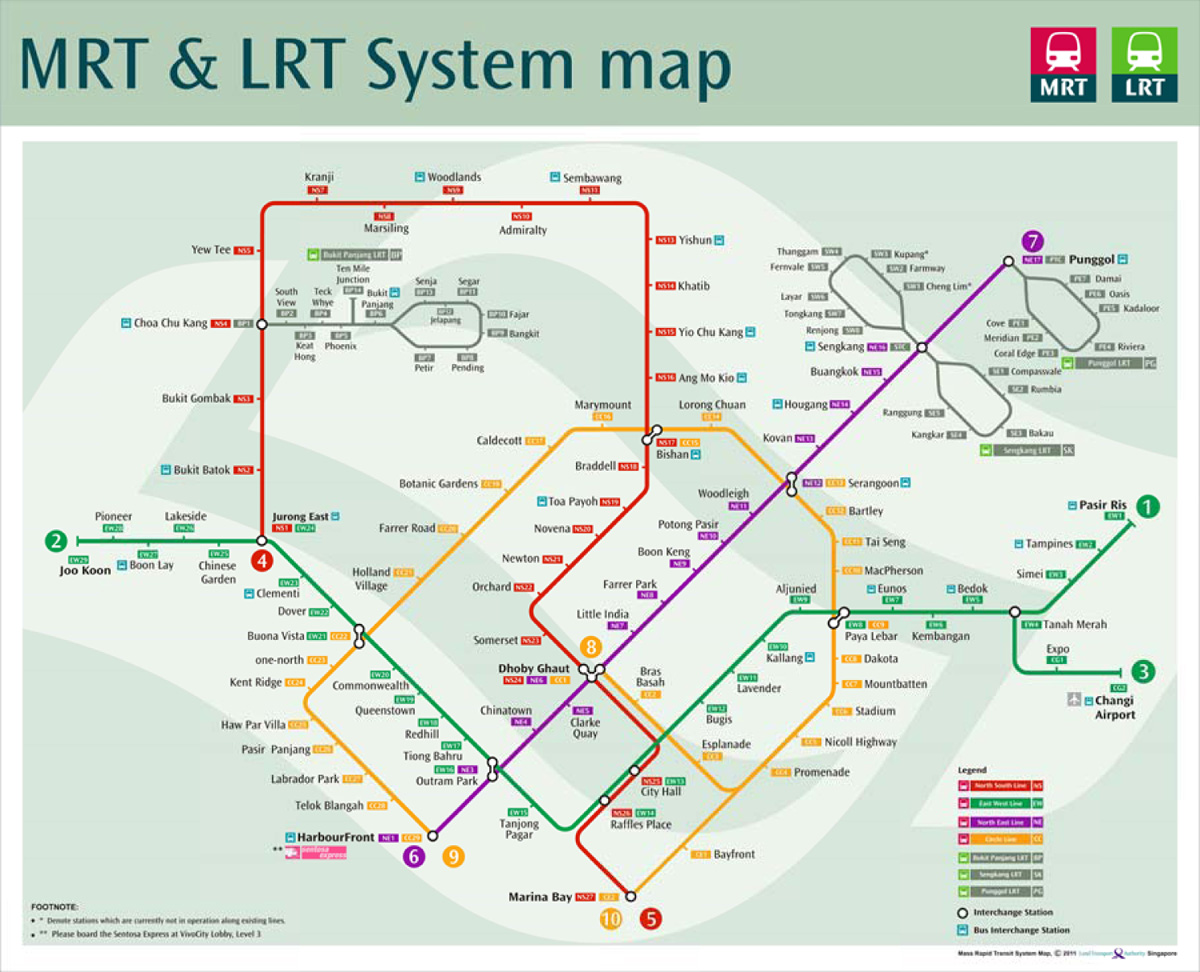Verkehrsmittel Singapur › Singapur Guide - Der Singapur online ...